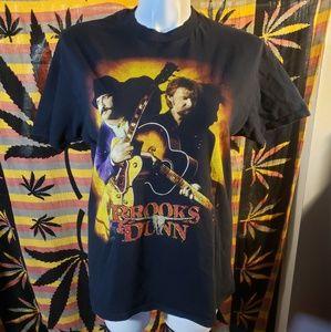 🔥 Vintage Brooks&Dunn '97 Tour of America t shirt